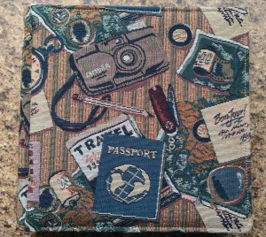 Creative Memories Travel Scrapbook Album