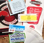 How to organize ephemera on a long trip