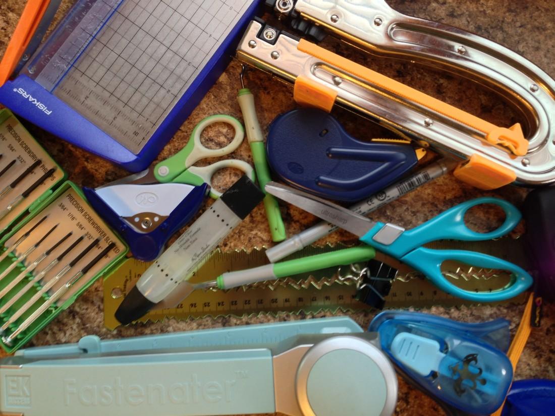 Scrapbooking Tools