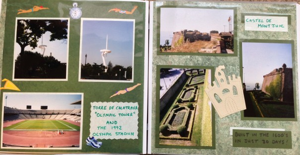Europe Trip: Barcelona, Spain - Olympic Stadium and Castel De Mont Juic