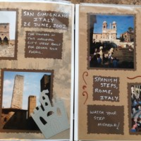 Europe Trip: San Gimignano, Italy and Spanish Steps, Rome, Italy