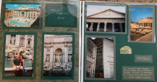 Europe Trip: Trevi Fountain, Pantheon, Rome, Italy