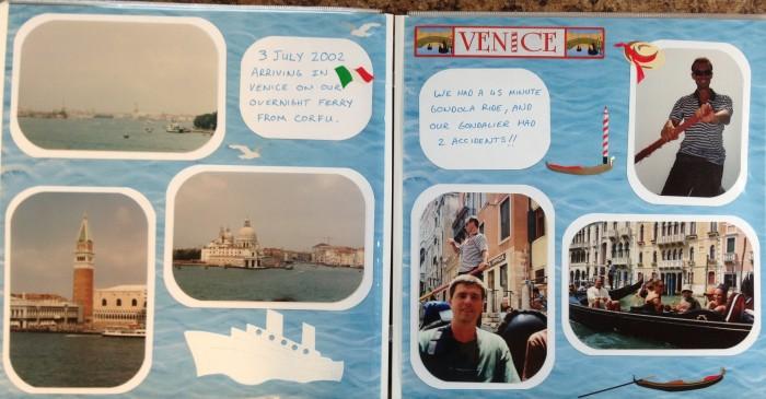 Europe Vacation: Venice - Gondolas