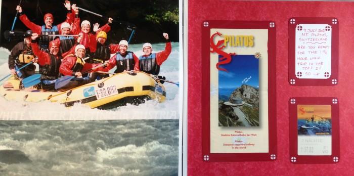 Europe Vacation: White Water Rafting in Austria and Mt Pilatus, Switzerland