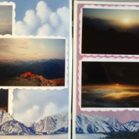 Europe Vacation: Mt Pilatus, Switzerland - Sunset and Sunrise