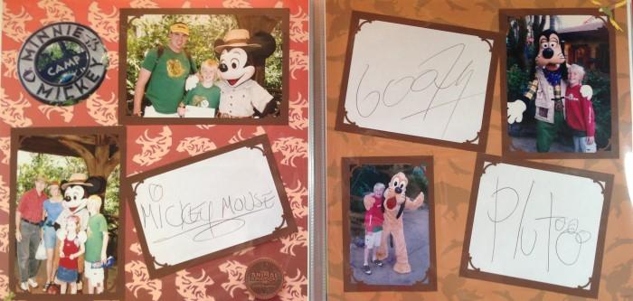Disney Vacation 2008: Animal Kingdom - autographs