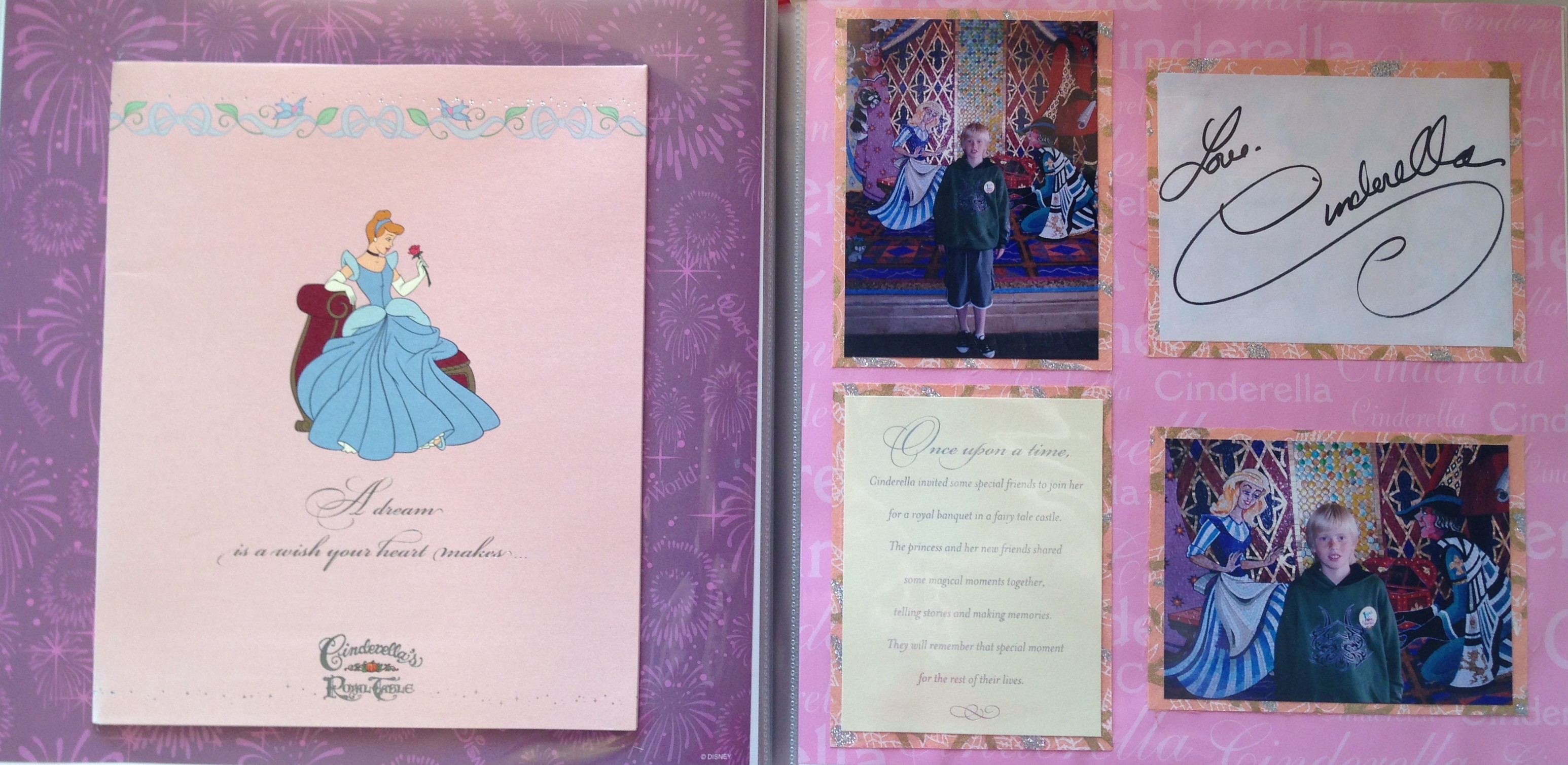 How to scrapbook disney vacation - Disney Vacation 2008 Magic Kingdom Cinderella S Royal Table 1