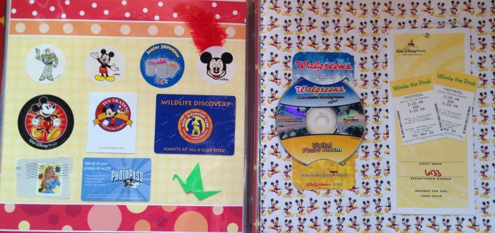 Disney Vacation 2008 - Ephemera