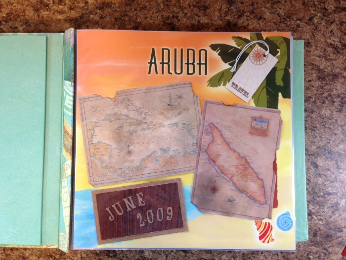Aruba Vacation 2009: Title Page