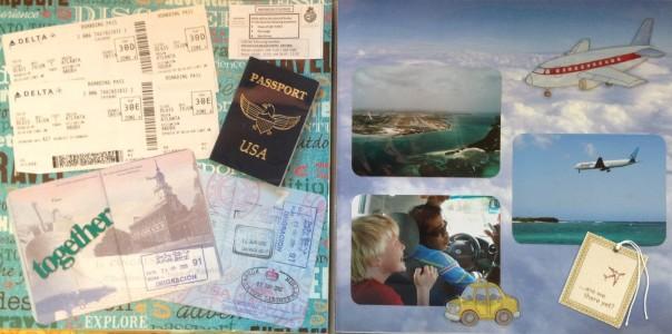 Aruba Vacation 2009: Travel and passports