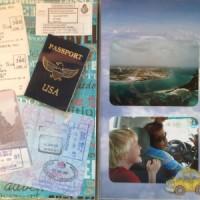 Aruba Vacation 2009: Flight, Taxi and Passports
