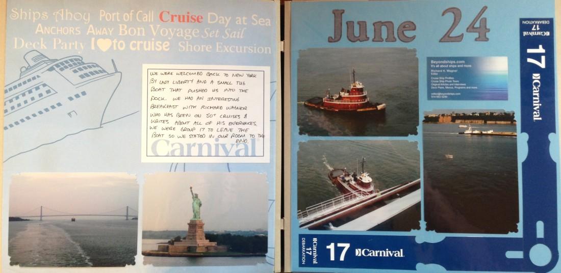 Canada Cruise 2010: Return to New York