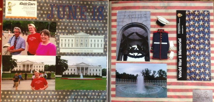 Washington DC 2012: Tour - White House and World War 2 Memorial