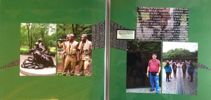 Washington DC 2012: Vietnam War Memorial