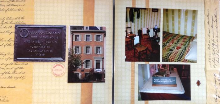 Washington DC 2012: House where Lincoln died