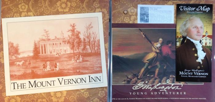 Washington DC 2012: Mount Vernon - Ephemera