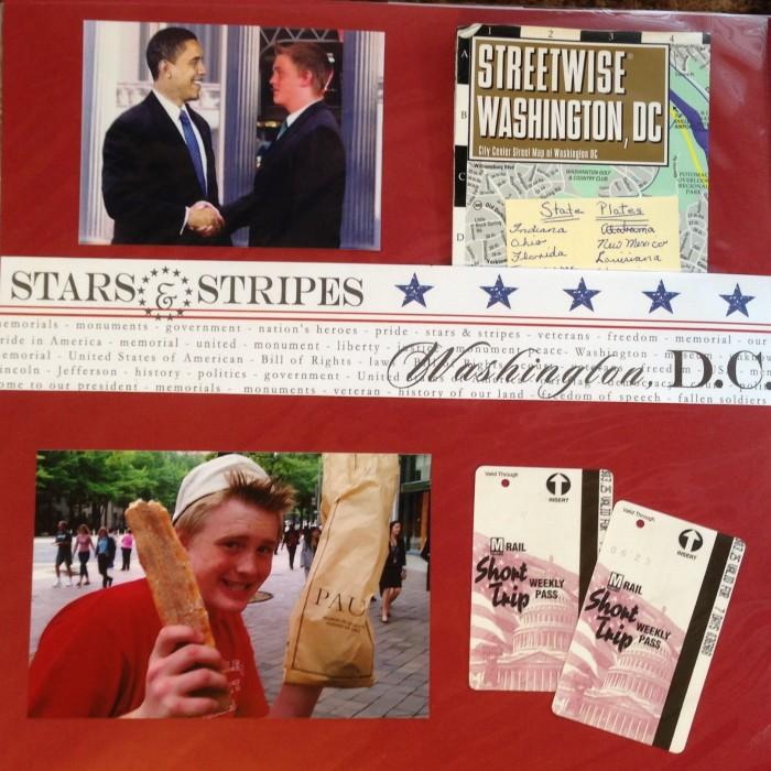 Washington DC 2012: Ephemera