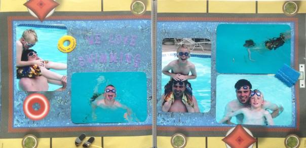2007: Swimming