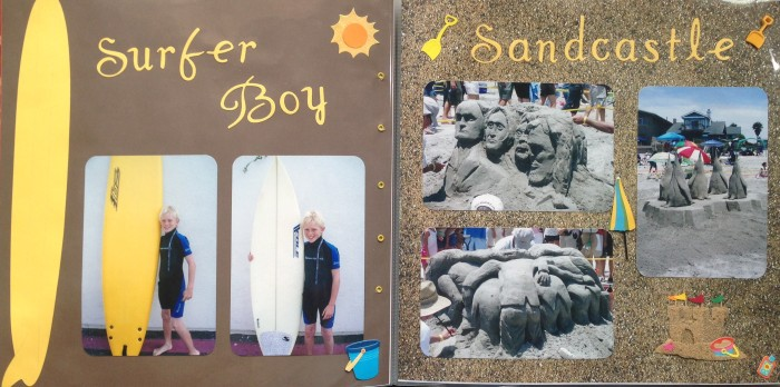 2007: Surfing and Sandcastles