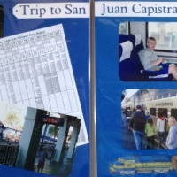 2008: Train ride to San Juan Capistrano