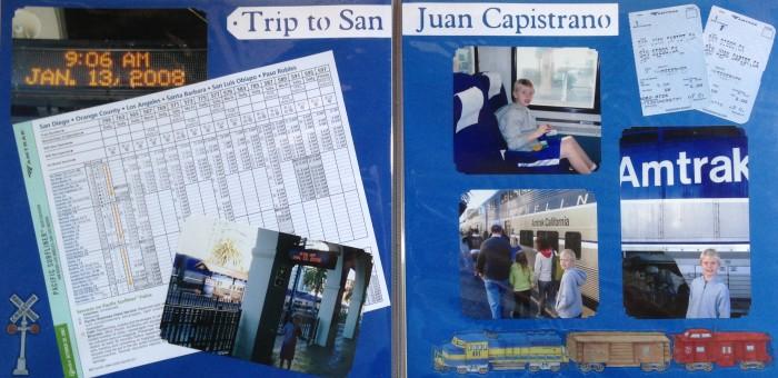 2008: Train ride to San Juan Capistrano