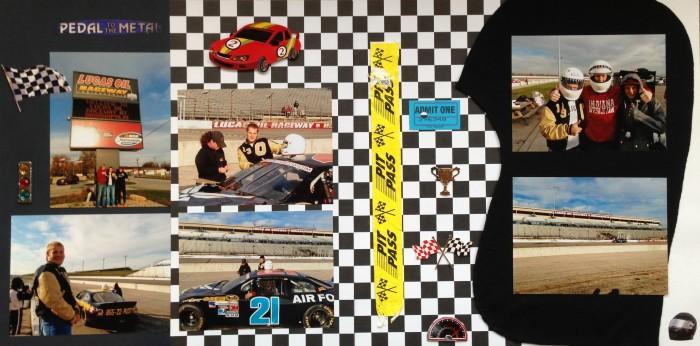 2012: Lucas Oil Raceway - NASCAR Ride Along