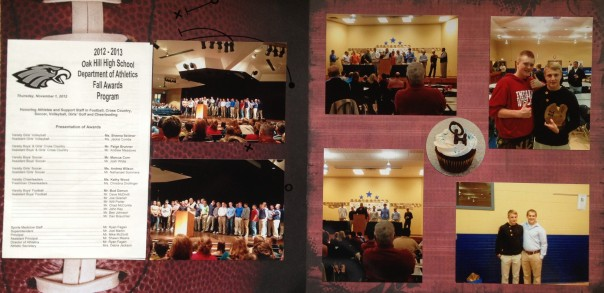 2012: Football Awards Banquet - Exchange Student