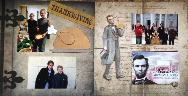 2012: Thanksgiving and Abraham Lincoln Library