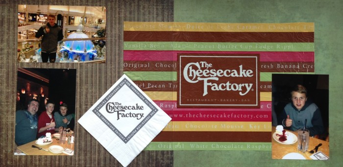 2012: Cheesecake Factory