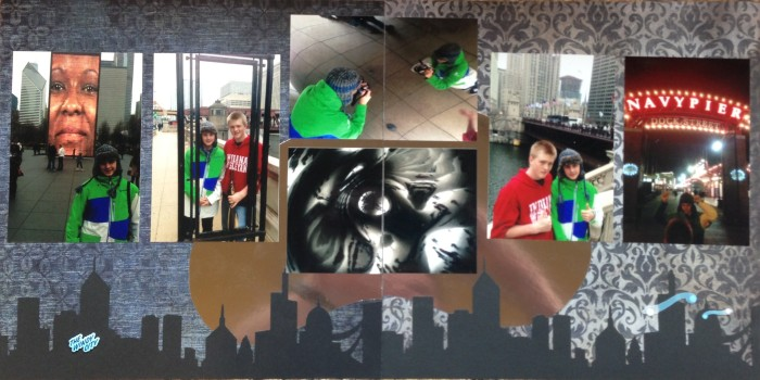 """2012: Chicago: The Cloud Gate, AKA """"The Bean"""" and Navy Pier"""