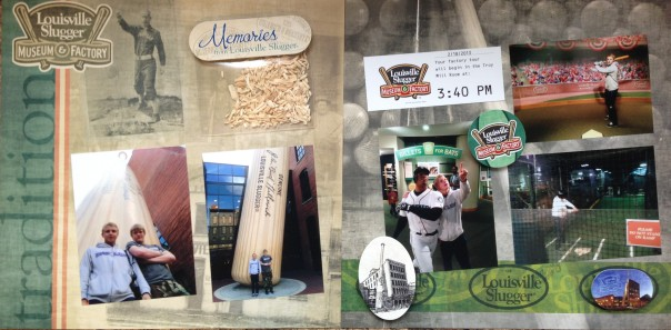 2013: Louisville Slugger Museum and Factory