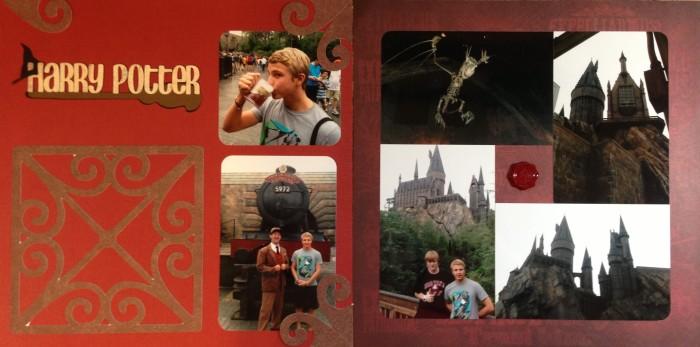 2013: Florida Spring Break Trip 2013: Islands of Adventure 2 - Harry Potter