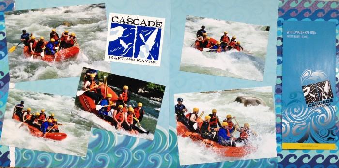 2013: White Water Rafting in Idaho