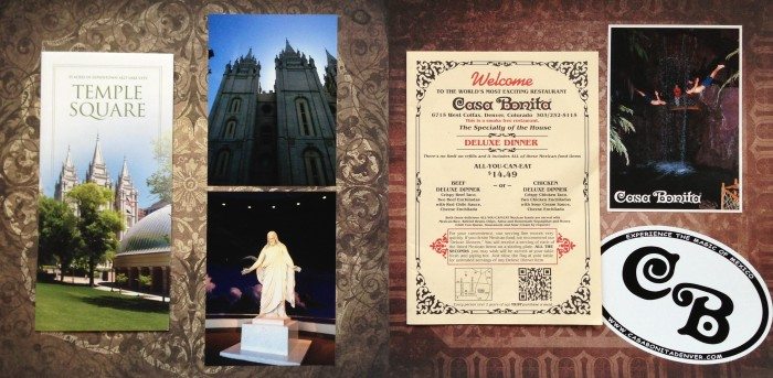 2013: Road Trip Across America: Temple Square and Casa Bonita
