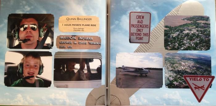 2009: Private Plane Ride