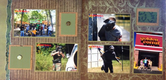 2013: Paintball Birthday Party