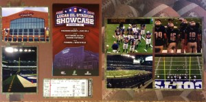 2013: Football: Lucas Oil