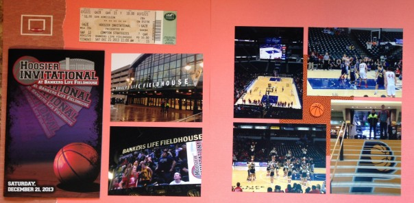 2013: Basketball at Banker's Life Fieldhouse