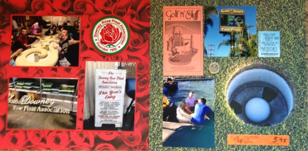 2013: Rose Parade Float Building and Golf n' Stuff