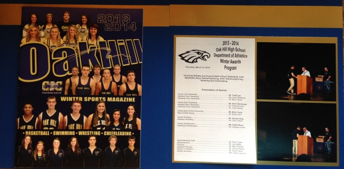 2014: Winter Athletic Awards Program