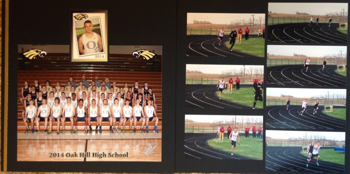 2014: Luca - Track and Field