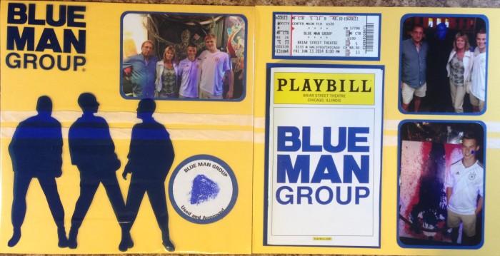 2014: Blue Man Group