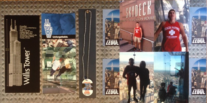 2014: Chicago SkyDeck and Ledge