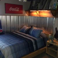 Remodelling My Son's Room - Industrial and Coke