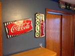 Teen Boy Room: industrial, coke, coca cola, sign