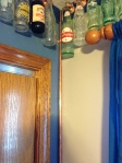Teen Boy Room: industrial, coke, coca cola, bottles, border, copper bell hanger, copper pipe