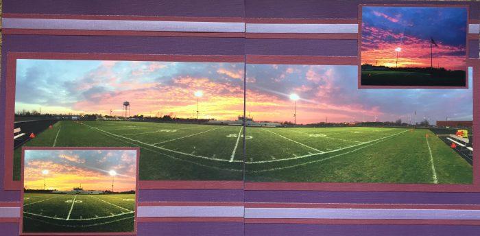 2014: Football Sunset