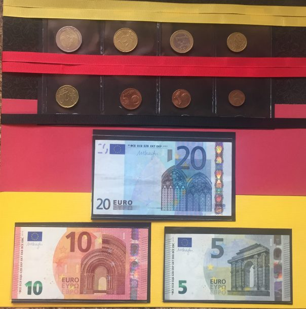 Europe Vacation 2015: End Page - Euro Currency