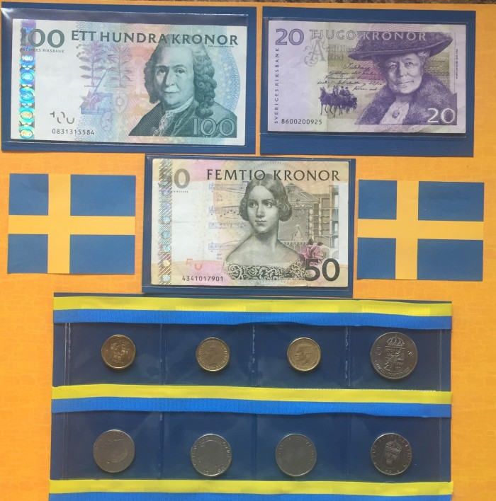 Europe Vacation 2015: Swedish Currency