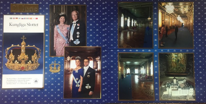 Europe Vacation 2015: Swedish Royal Palace 1